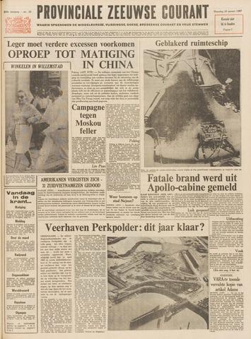 Provinciale Zeeuwse Courant 1967-01-30