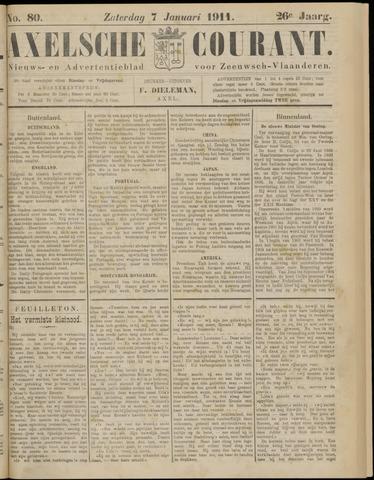 Axelsche Courant 1911-01-07