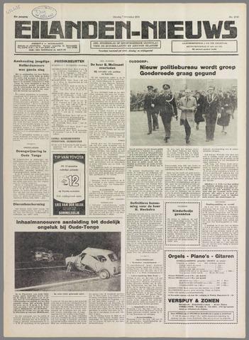 Eilanden-nieuws. Christelijk streekblad op gereformeerde grondslag 1978-11-07