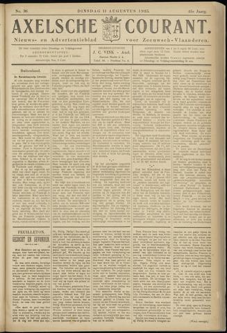 Axelsche Courant 1925-08-11