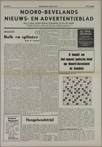 Noord-Bevelands Nieuws- en advertentieblad 1977-02-24