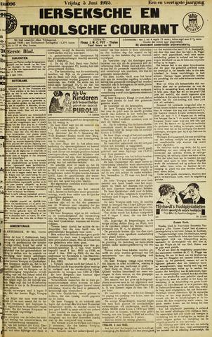 Ierseksche en Thoolsche Courant 1925-06-05