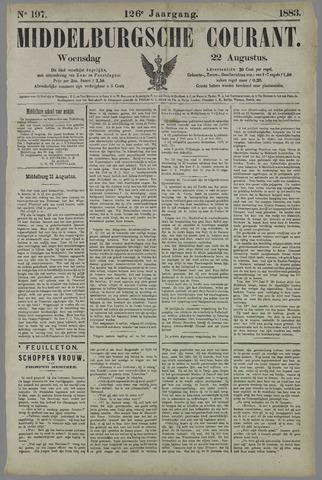 Middelburgsche Courant 1883-08-22