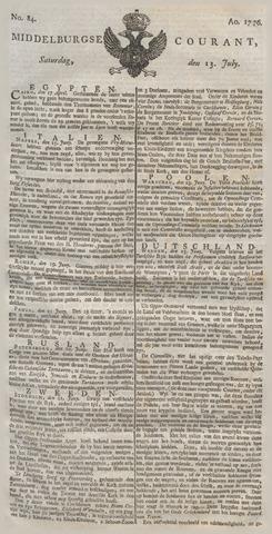 Middelburgsche Courant 1776-07-13
