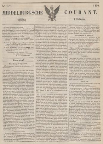 Middelburgsche Courant 1869-10-01