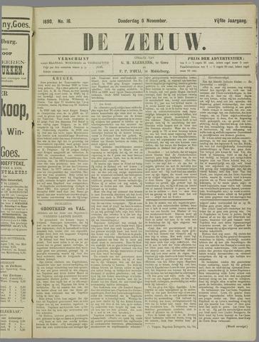 De Zeeuw. Christelijk-historisch nieuwsblad voor Zeeland 1890-11-06