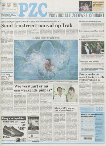 Provinciale Zeeuwse Courant 2002-08-08