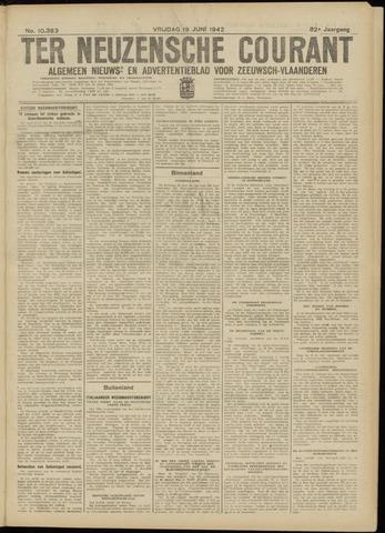 Ter Neuzensche Courant. Algemeen Nieuws- en Advertentieblad voor Zeeuwsch-Vlaanderen / Neuzensche Courant ... (idem) / (Algemeen) nieuws en advertentieblad voor Zeeuwsch-Vlaanderen 1942-06-19