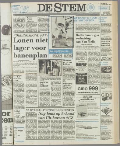 de Stem 1981-11-07