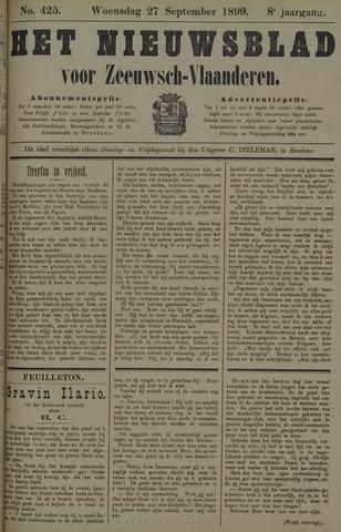 Nieuwsblad voor Zeeuwsch-Vlaanderen 1899-09-27
