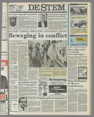 de Stem 1989-03-10