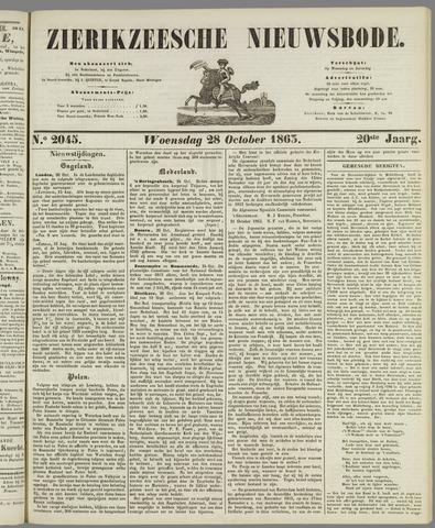Zierikzeesche Nieuwsbode 1863-10-28