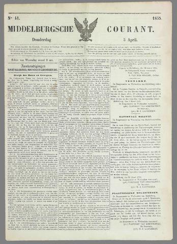 Middelburgsche Courant 1855-04-05