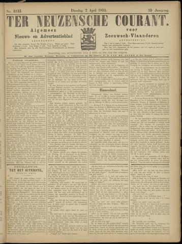 Ter Neuzensche Courant. Algemeen Nieuws- en Advertentieblad voor Zeeuwsch-Vlaanderen / Neuzensche Courant ... (idem) / (Algemeen) nieuws en advertentieblad voor Zeeuwsch-Vlaanderen 1895-04-02