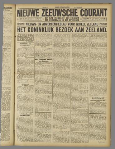 Nieuwe Zeeuwsche Courant 1924-08-05