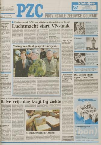 Provinciale Zeeuwse Courant 1993-04-07