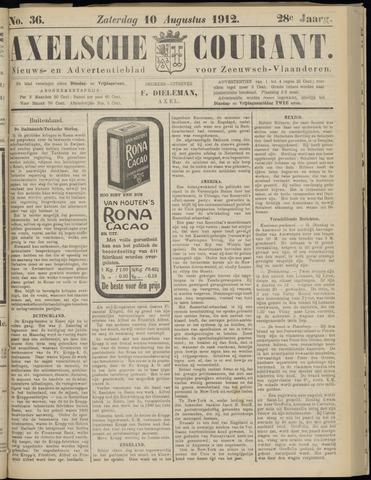 Axelsche Courant 1912-08-10