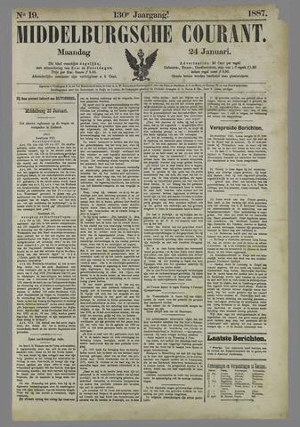 Middelburgsche Courant 1887-01-24