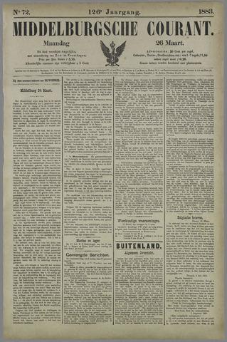 Middelburgsche Courant 1883-03-26