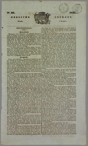 Goessche Courant 1835-11-09