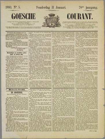 Goessche Courant 1883-01-11