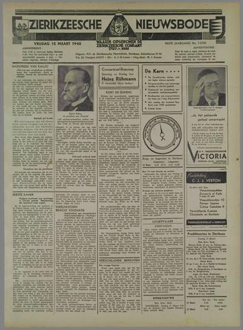 Zierikzeesche Nieuwsbode 1940-03-15
