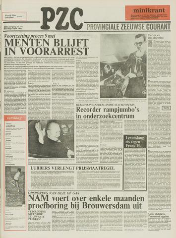 Provinciale Zeeuwse Courant 1977-04-05