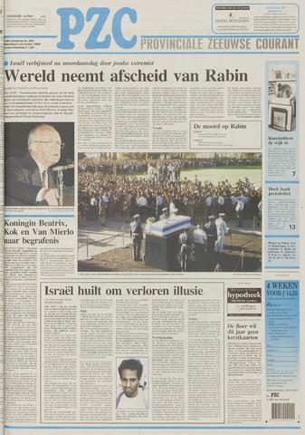 Provinciale Zeeuwse Courant 1995-11-06