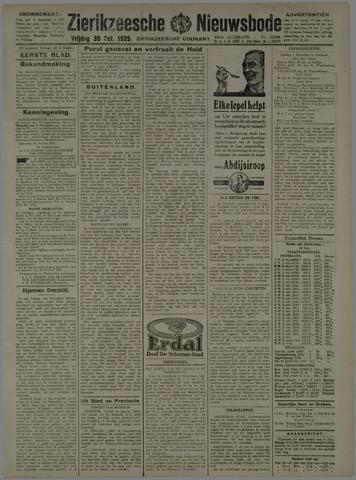 Zierikzeesche Nieuwsbode 1925-10-30