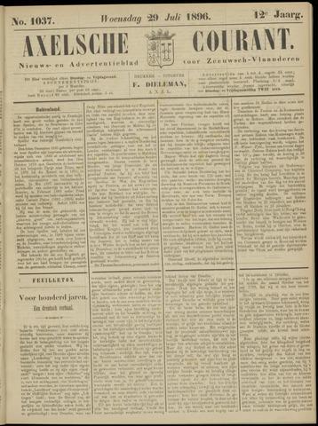 Axelsche Courant 1896-07-29
