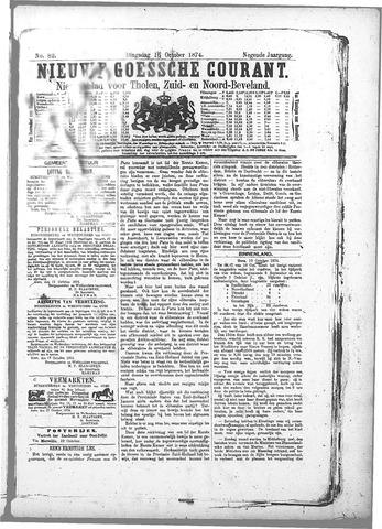 Nieuwe Goessche Courant 1874-10-18