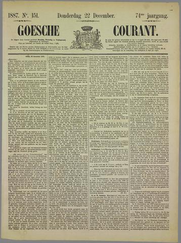 Goessche Courant 1887-12-22