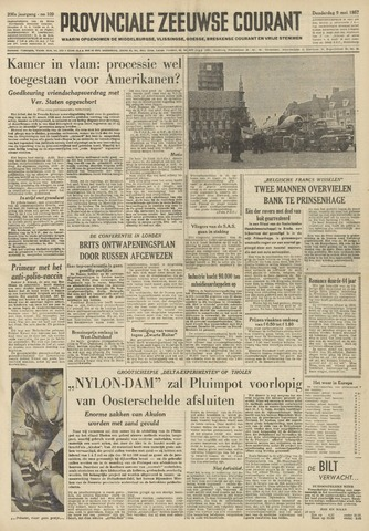 Provinciale Zeeuwse Courant 1957-05-09