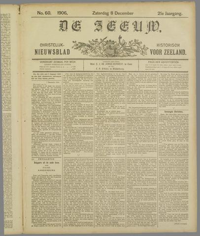 De Zeeuw. Christelijk-historisch nieuwsblad voor Zeeland 1906-12-08