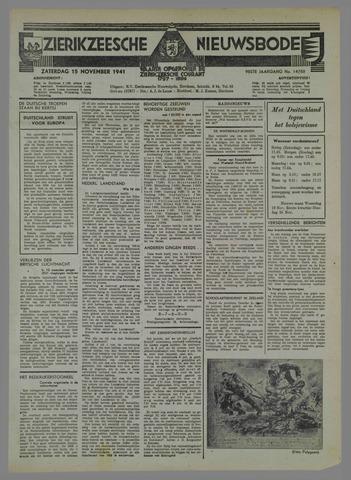 Zierikzeesche Nieuwsbode 1941-10-19