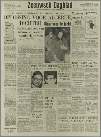 Zeeuwsch Dagblad 1960-11-16