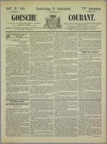 Goessche Courant 1887-09-15