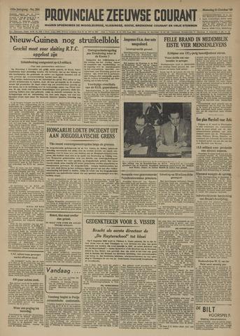 Provinciale Zeeuwse Courant 1949-10-31
