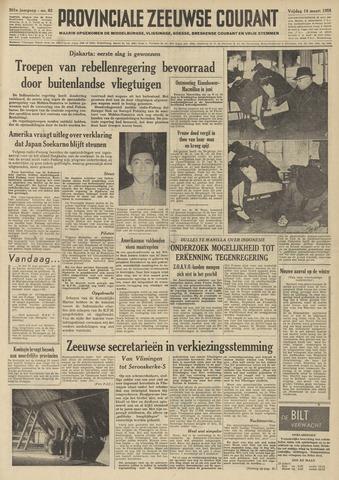 Provinciale Zeeuwse Courant 1958-03-14