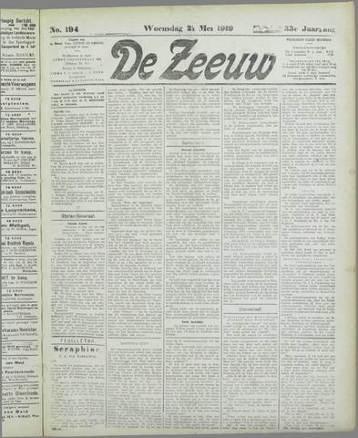 De Zeeuw. Christelijk-historisch nieuwsblad voor Zeeland 1919-05-21