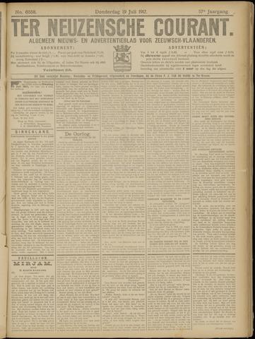 Ter Neuzensche Courant. Algemeen Nieuws- en Advertentieblad voor Zeeuwsch-Vlaanderen / Neuzensche Courant ... (idem) / (Algemeen) nieuws en advertentieblad voor Zeeuwsch-Vlaanderen 1917-07-19