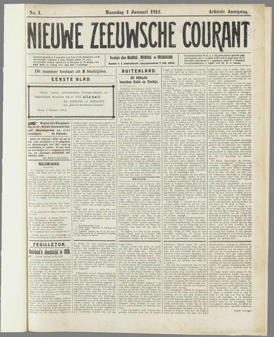 Nieuwe Zeeuwsche Courant 1912