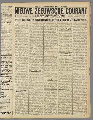 Nieuwe Zeeuwsche Courant 1934-02-08