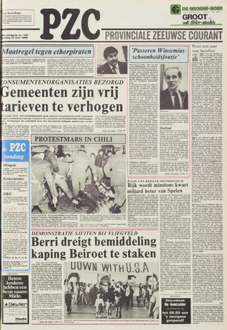 Provinciale Zeeuwse Courant 1985-06-22