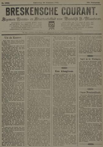 Breskensche Courant 1915-01-30