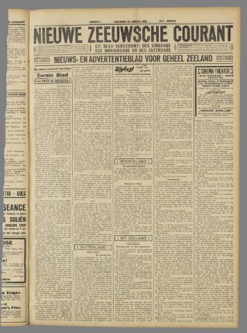 Nieuwe Zeeuwsche Courant 1932-01-23