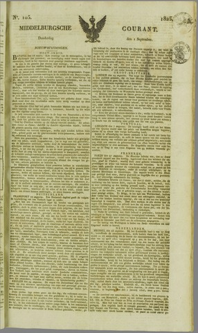Middelburgsche Courant 1825-09-01