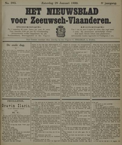 Nieuwsblad voor Zeeuwsch-Vlaanderen 1899-01-28