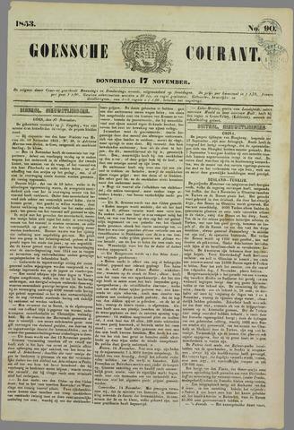 Goessche Courant 1853-11-17