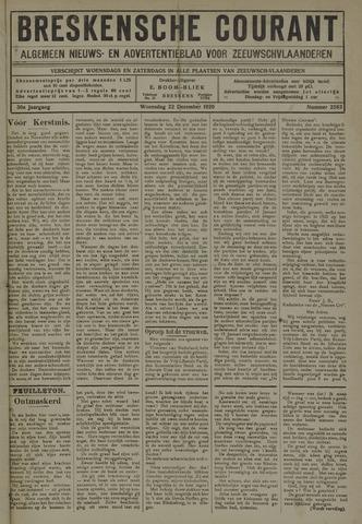 Breskensche Courant 1920-12-22